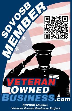 Service Disabled Veteran Owned Business Badge